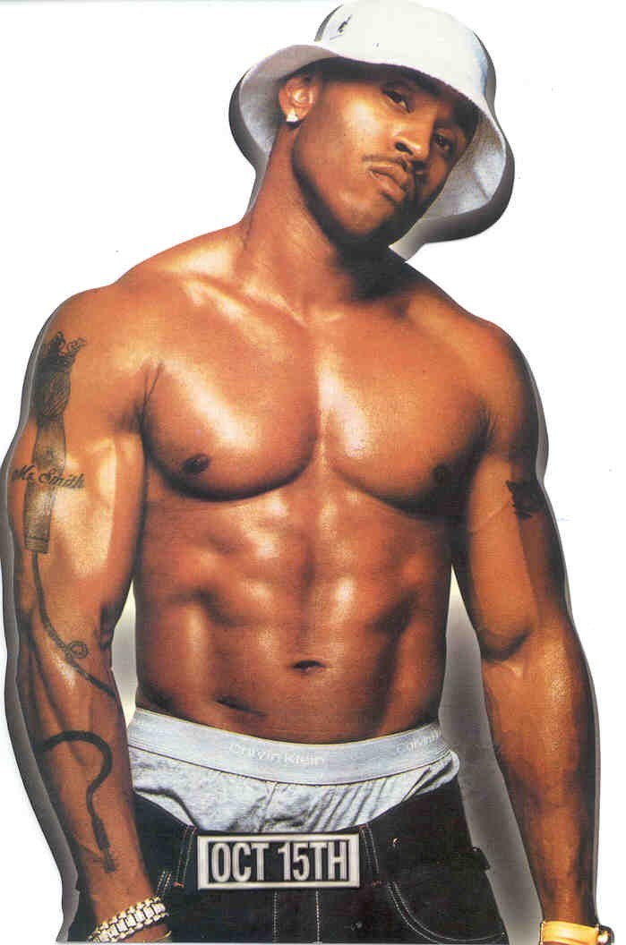LL Cool J, an artist that spends an awful lot of time with his shirt off, and that Chuck cited as a good influence on him as a young man. If LL Cool J can use his body as a sales point, why can't Nicki?