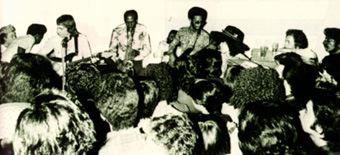 Shots of Afro Rake, and the logo.[ via ]