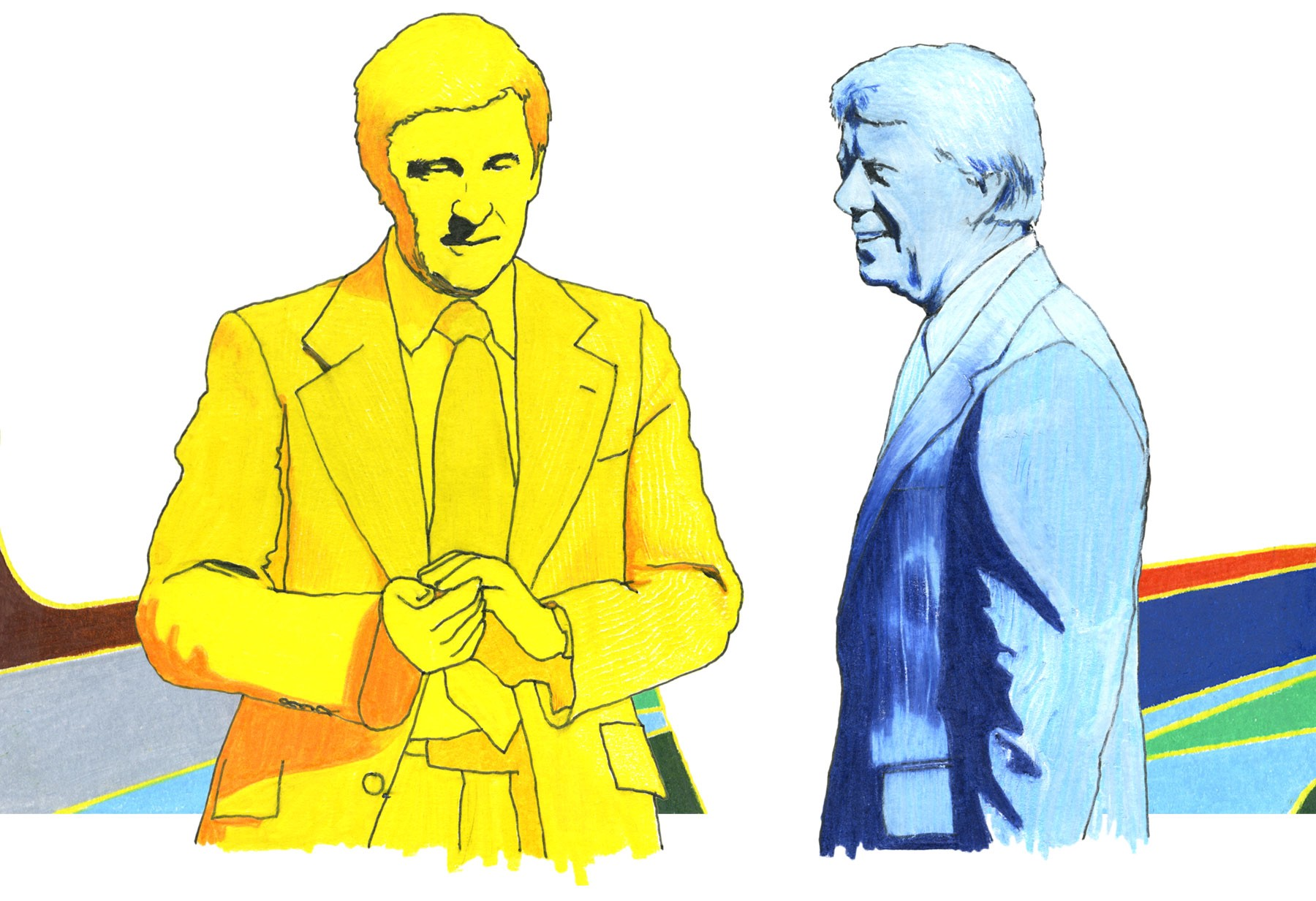 Dr. Peter Bourne and Jimmy Carter