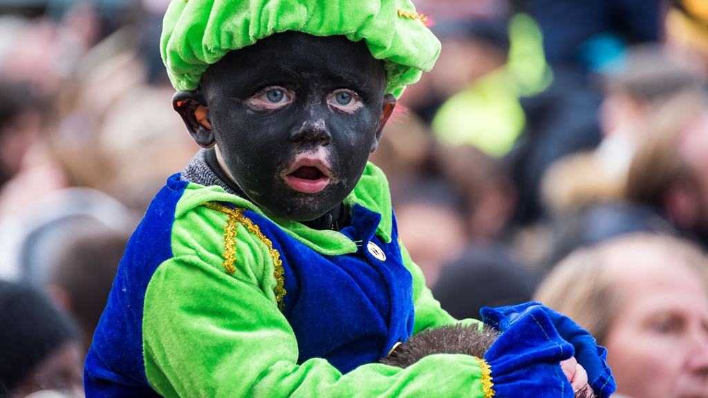 Black Pete can also be a baby.  Photo credit