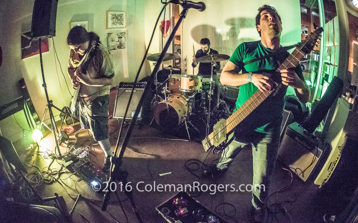 Album release show at unchARTed Gallery in Lowell, MA. By Coleman Rodgers