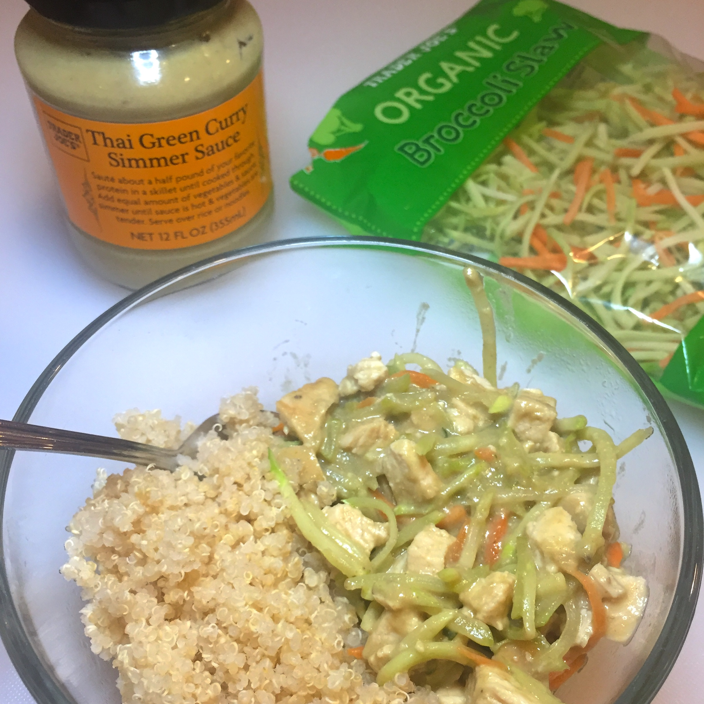 AAYNutrition_Thai Green Curry Chicken Bowl