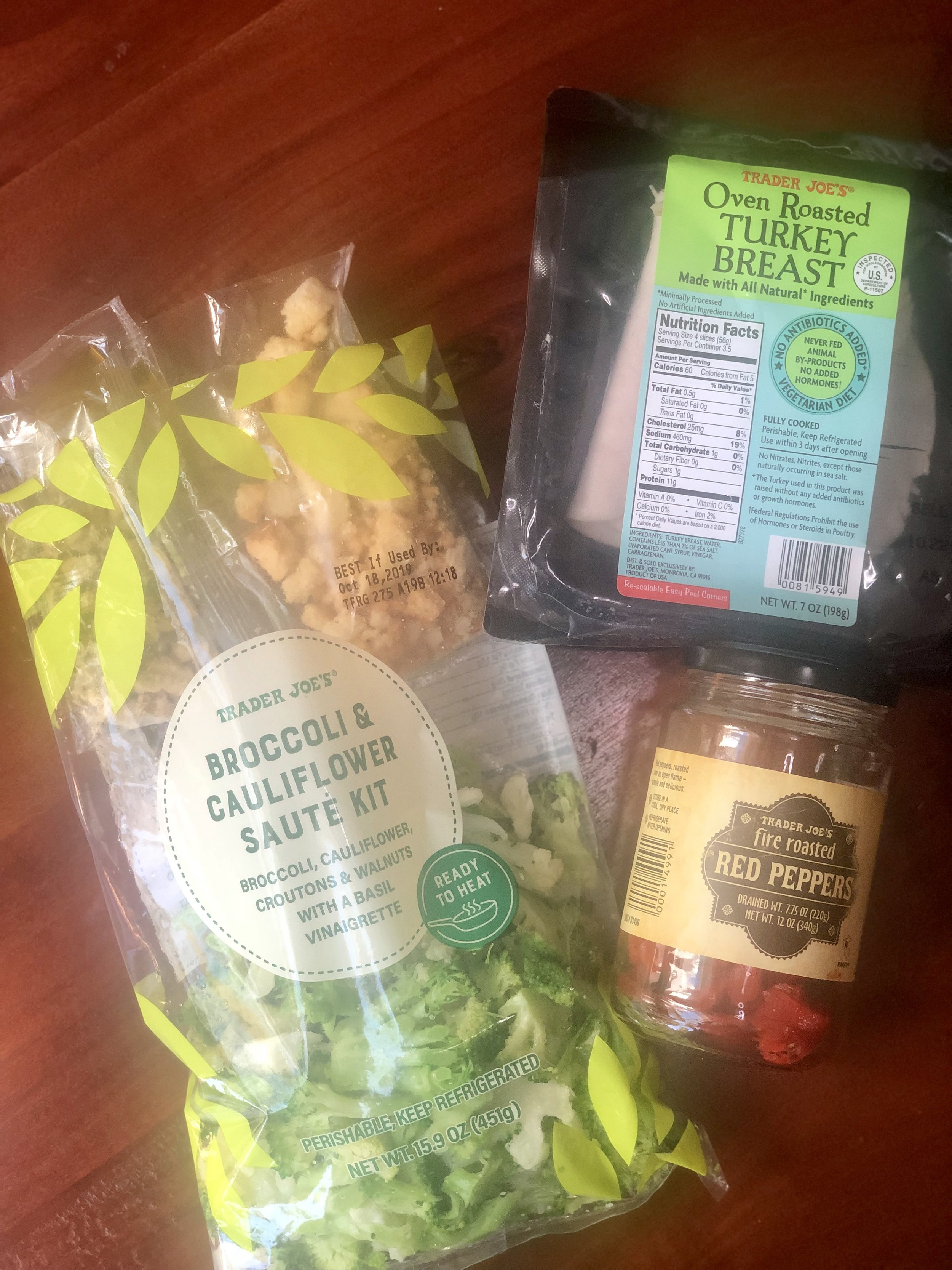Healthy Eating at Trader Joes | AAY Nutrition Stir Fry Kit with Turkey