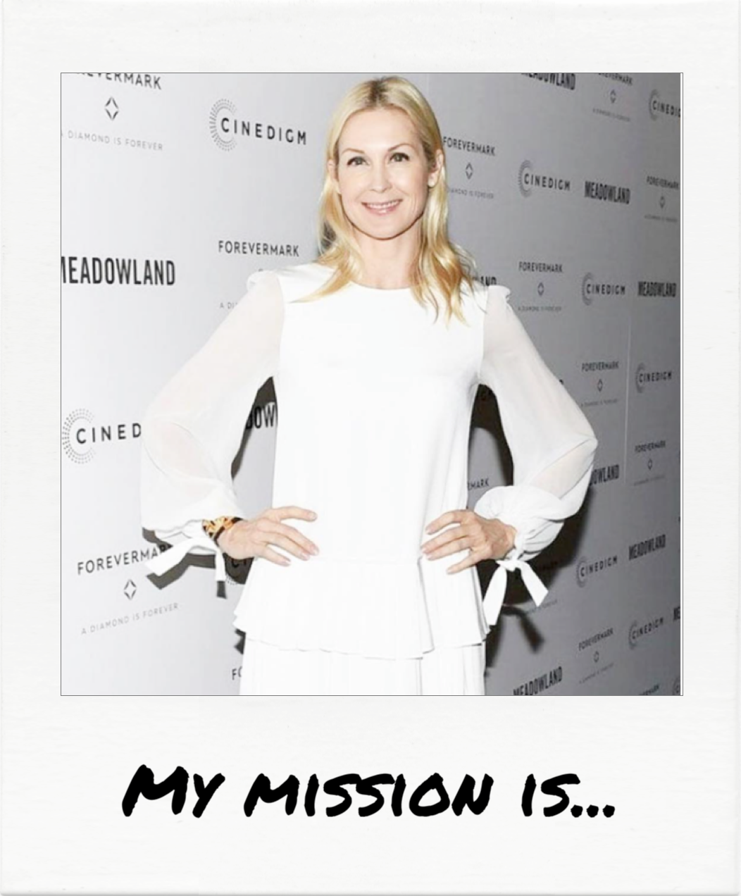 """...LOVE."" - Kelly Rutherford"
