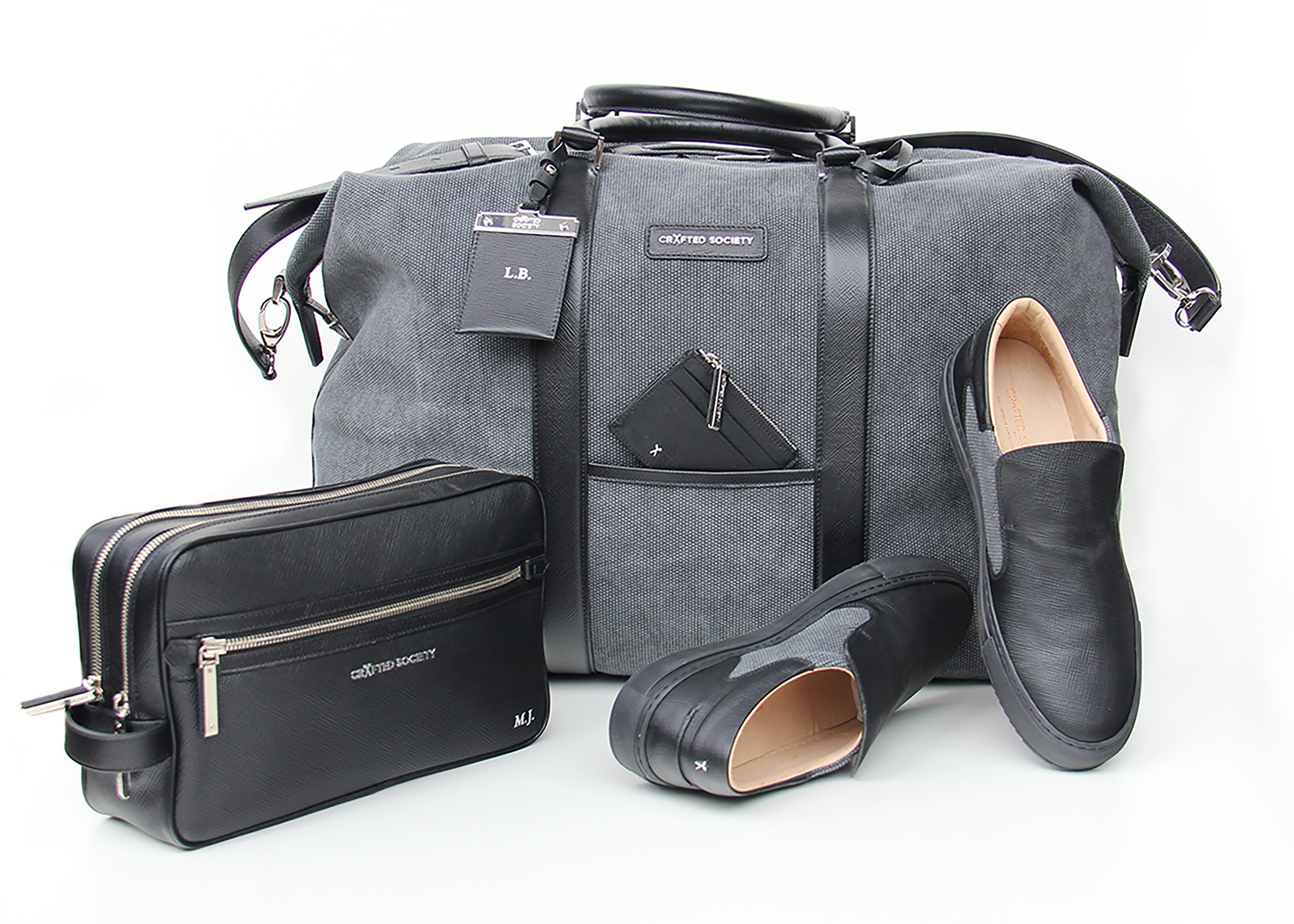 The weekender and slip on by Crafted Society