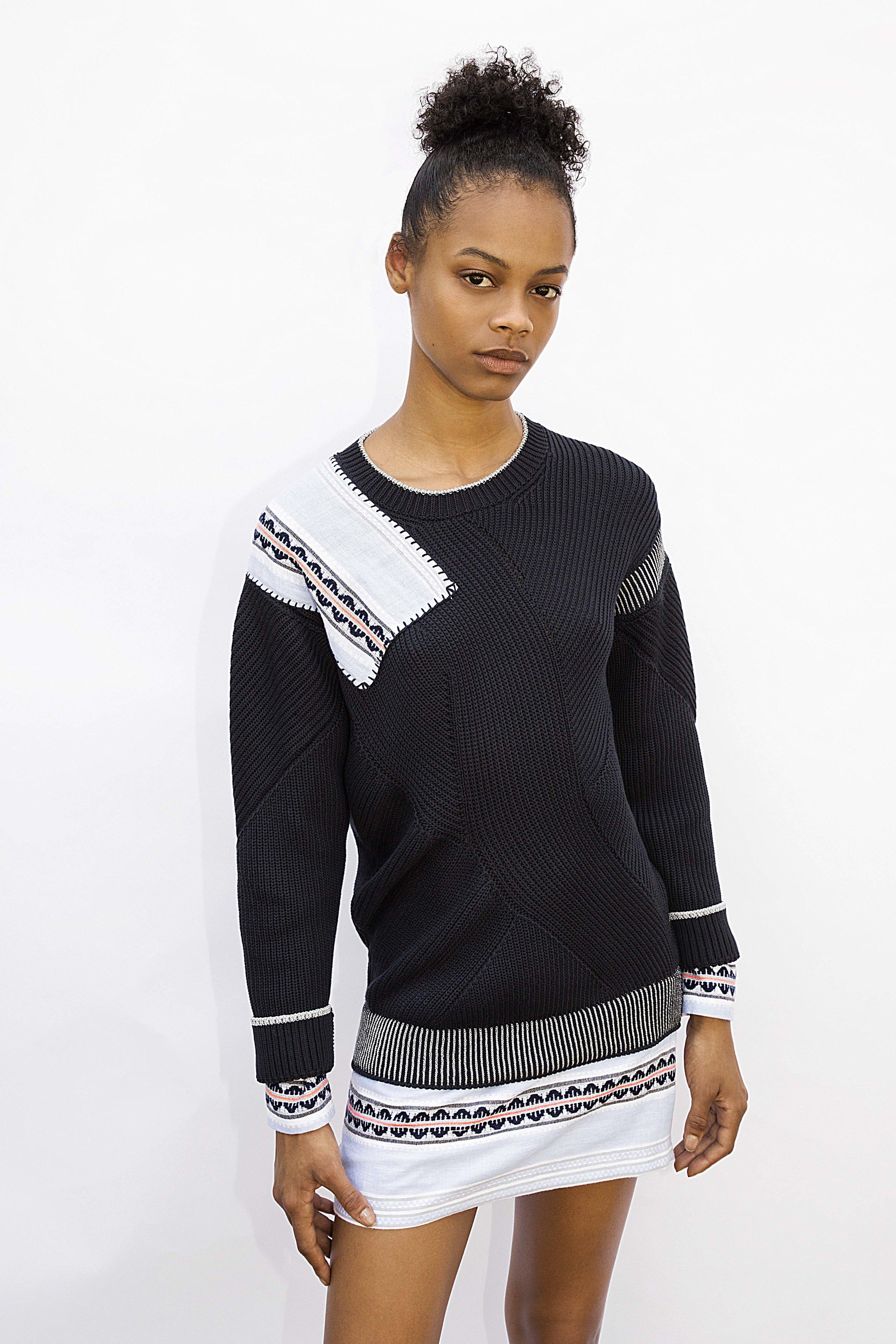 Liya Kebede's design for Generous Sweaters/Sonia Rykiel. All photos courtesy of Sonia Rykiel.