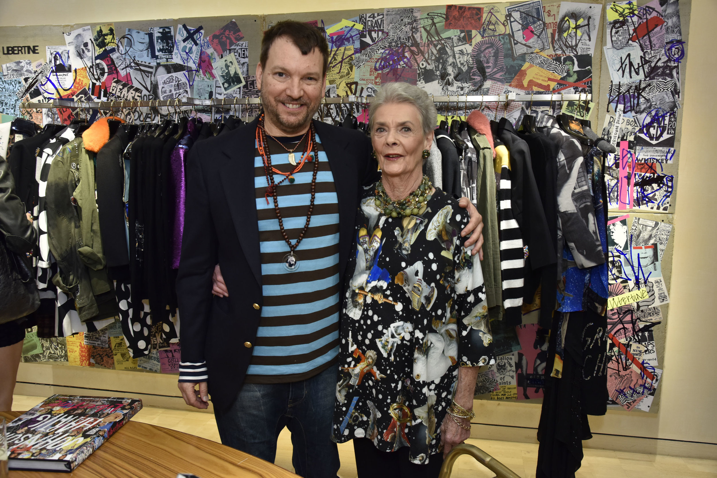 Betty Halbreich at Libertine book party 2015. All photos courtesy of Bergdorf Goodman.