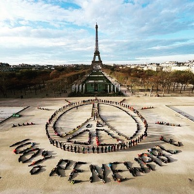 Blackford at Paris Climate Summit. Photo credit Yann Arthus-Bertrand / Spectral Q