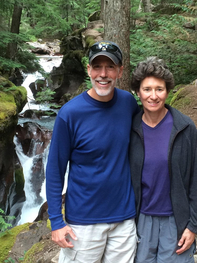 Steve and Kathy Schleyer, Hostsand Food Services -