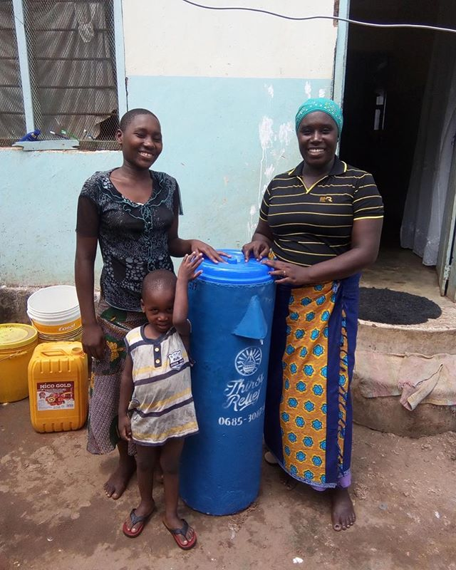 The report from the Tanzania Mother's Day campaign is in! Thank you to all who donated! Your generosity helped bring clean water to women like Sarafina and her children Rispa and Amina as well as more than 200 others!