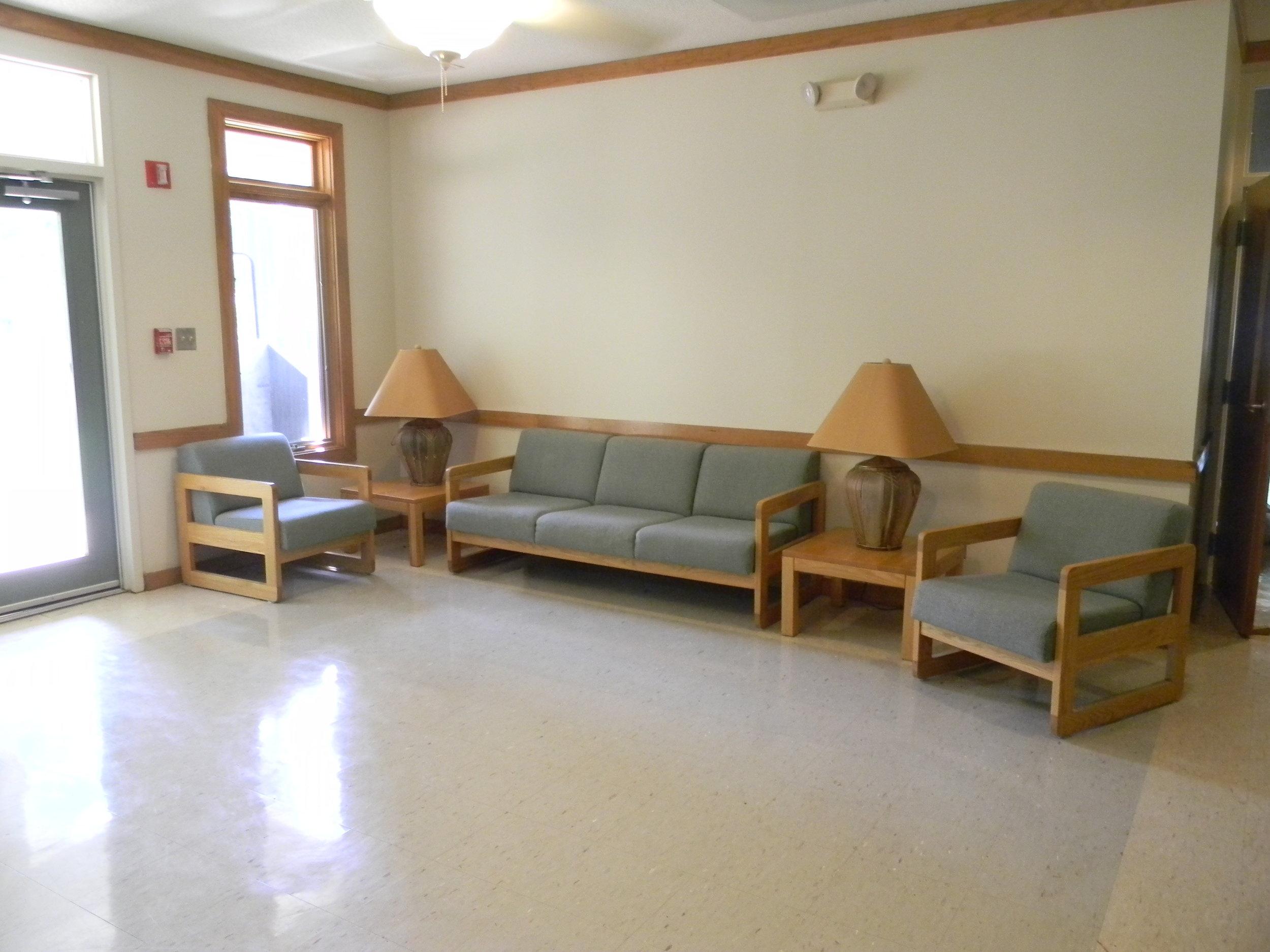 Staff House Lobby Interior