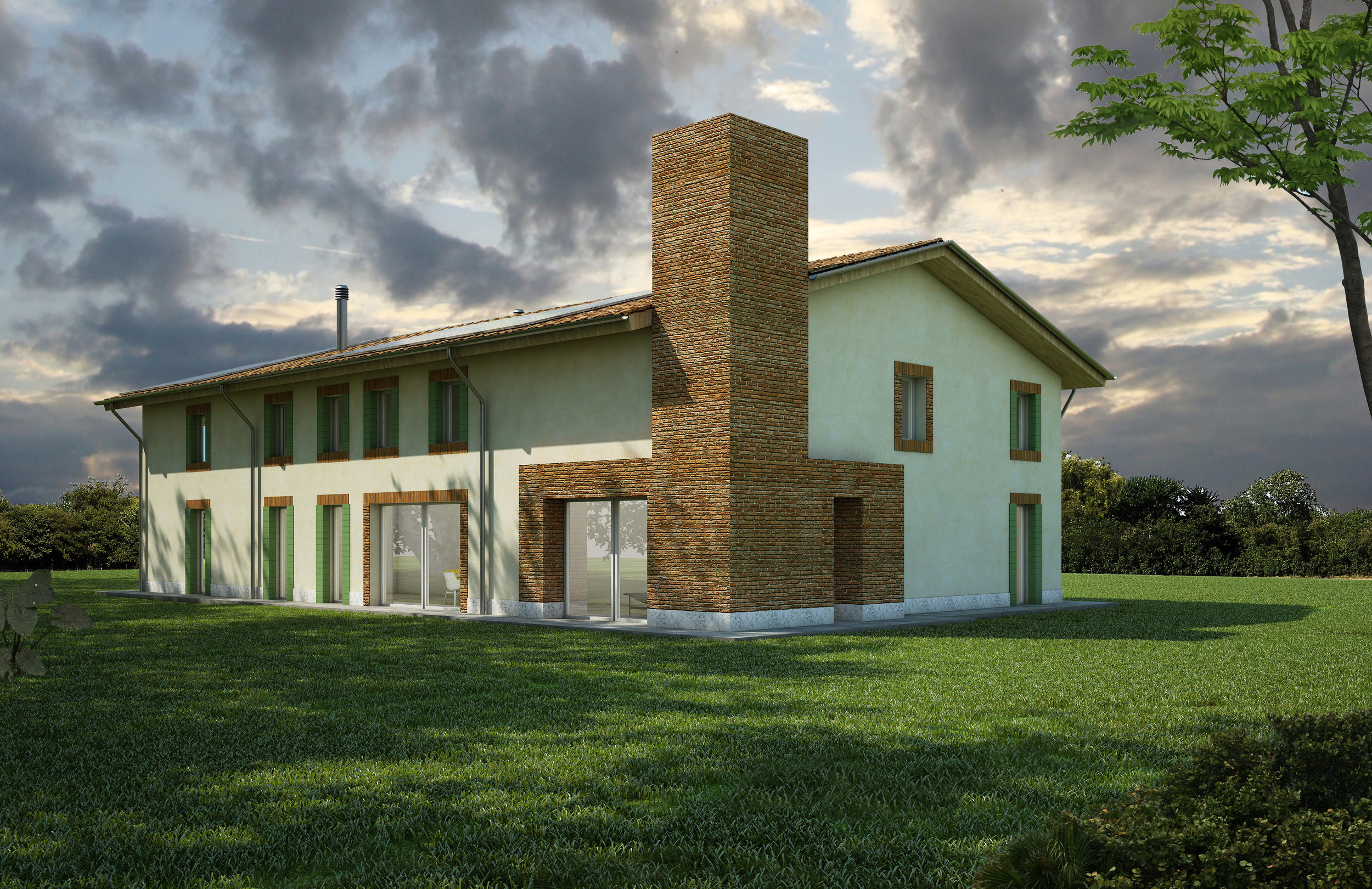 the rural house: ca' bianca