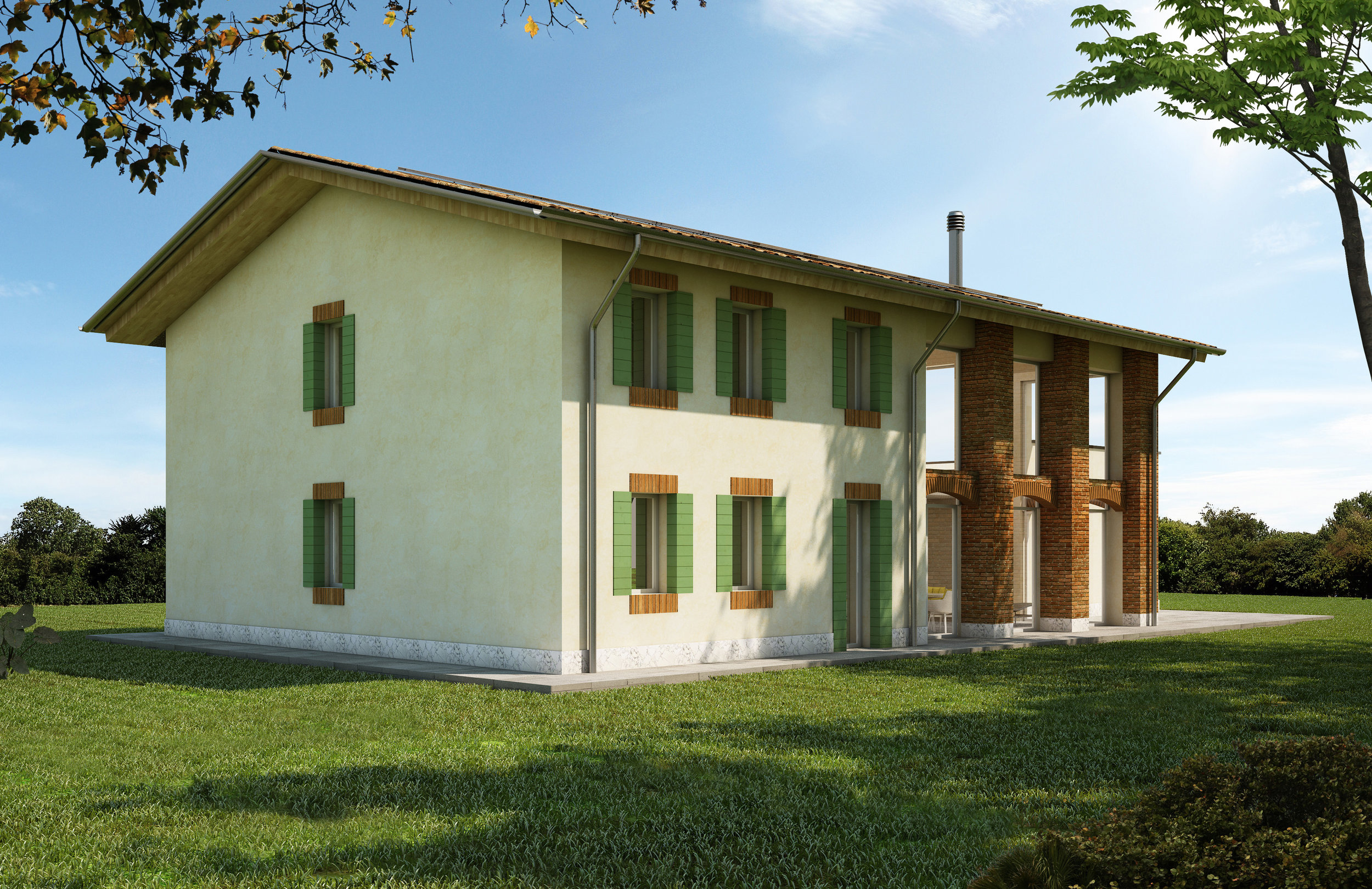 the rural house: selvabella