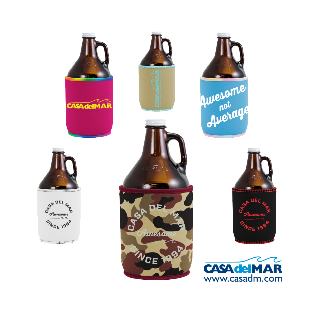 San Diego Brewery, Growler, Koozie, Promotional Product, Screen Print, Embroidery, Beer, Can Cooler