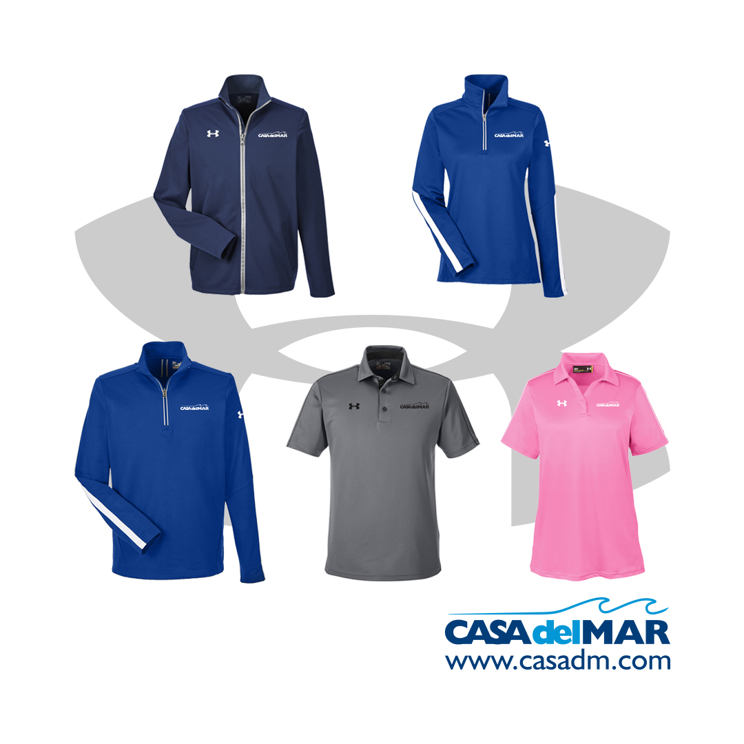 Under Armour, Screen Printing, Embroidery, San Diego, Casa del Mar, Summer, Performance Apparel