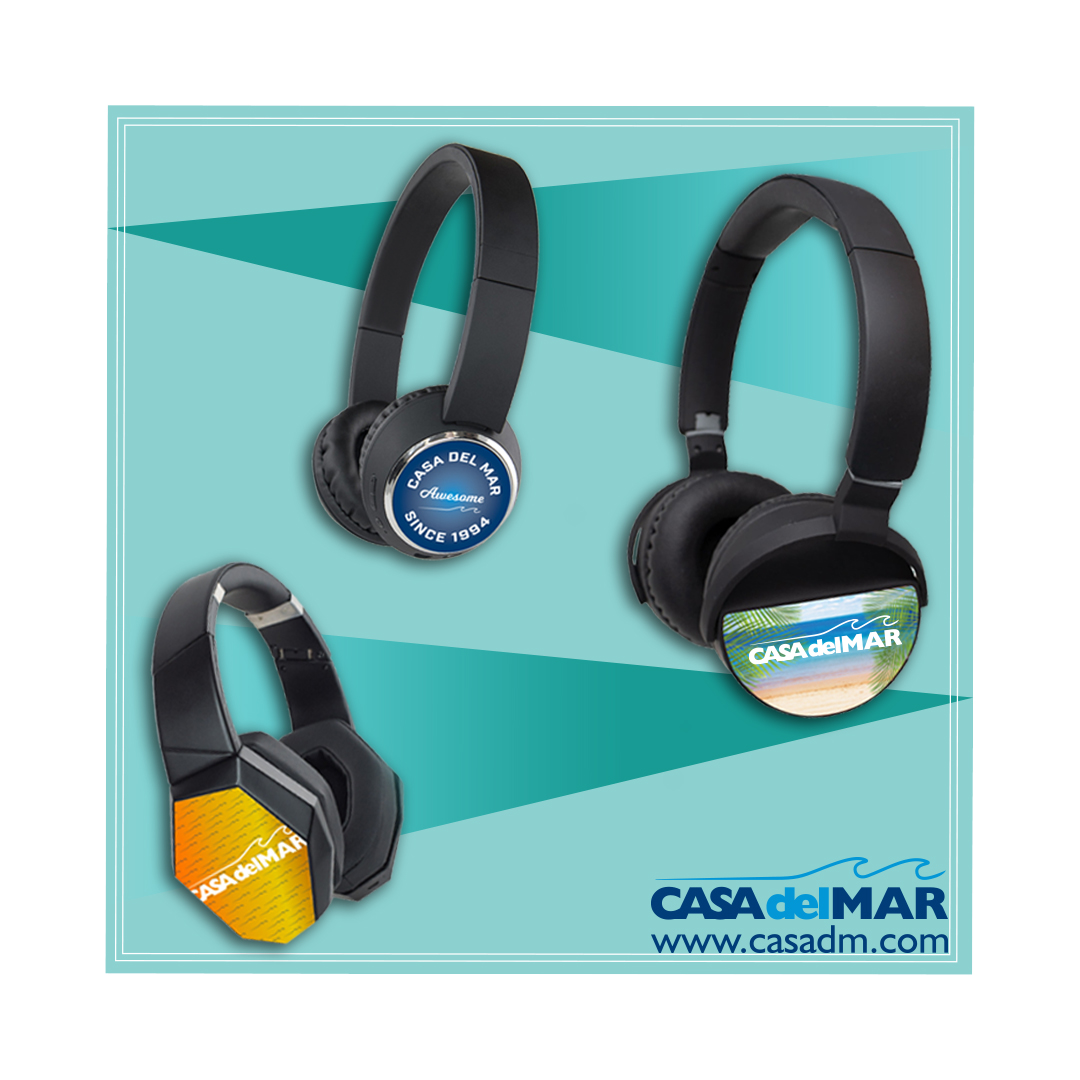 Wireless Headphones, Headphones, Wireless, Bluetooth, Promotional Products, Music, Sound, San Diego, Printing