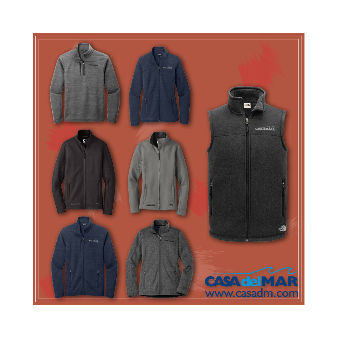 Fall, Fleece, Jackets, Embroidery, San Diego, California, Promotional Apparel, Promotional Products, Branding