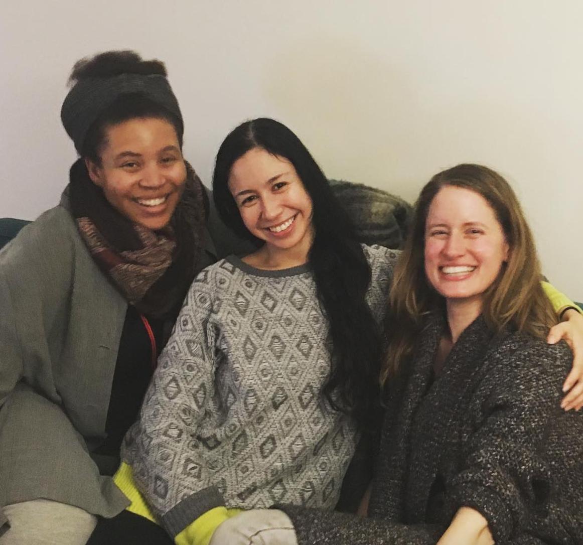 Joy, Jasmine, and Dana