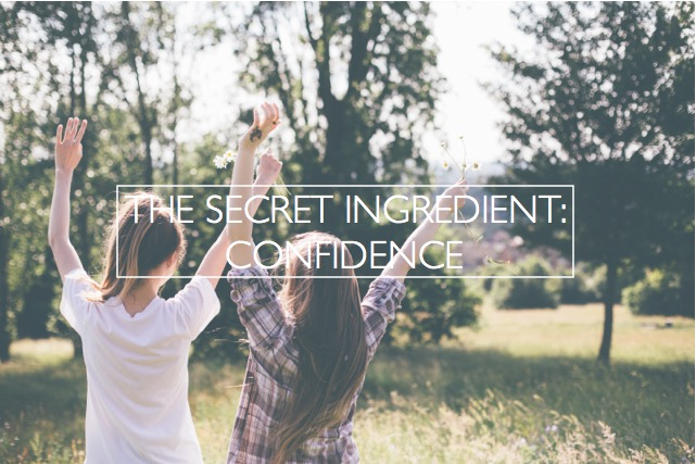 the secret ingredient confidence photo by dttsp
