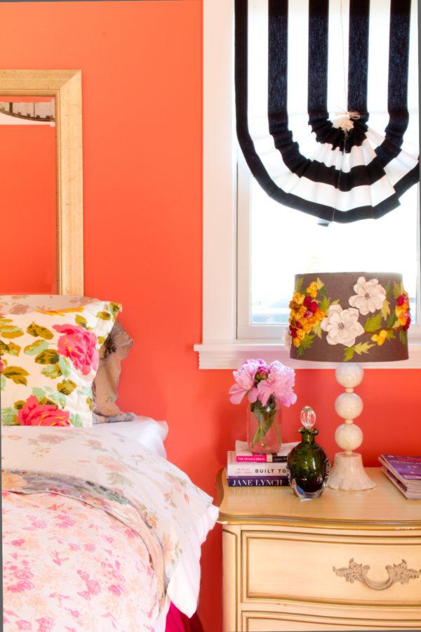 J Kurtz Designs Coral Bedroom