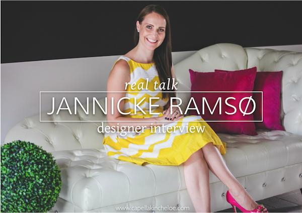 Real Designer Jannicke Ramso Interview