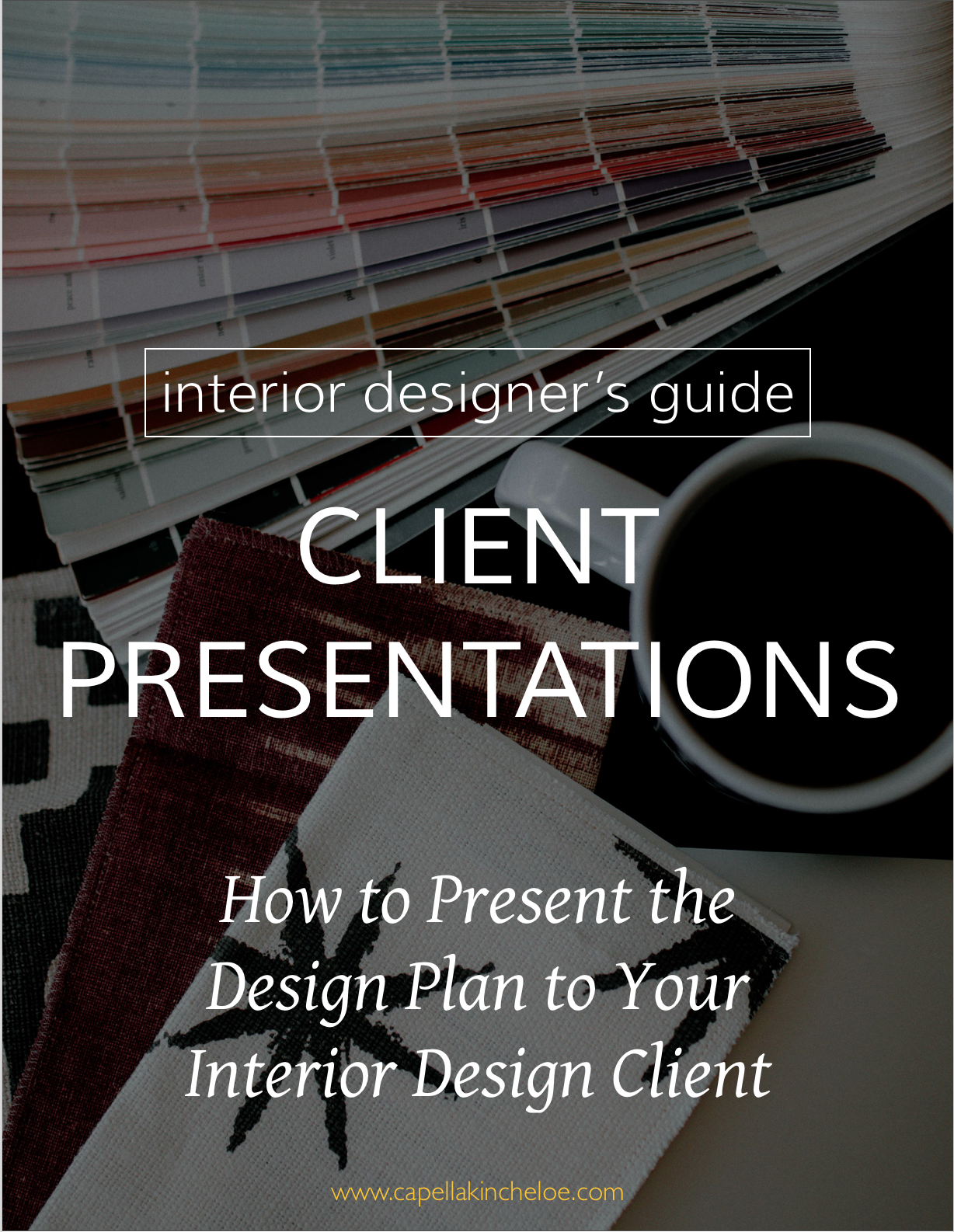 Feel confident and self-assure in how you present your design plan to clients.