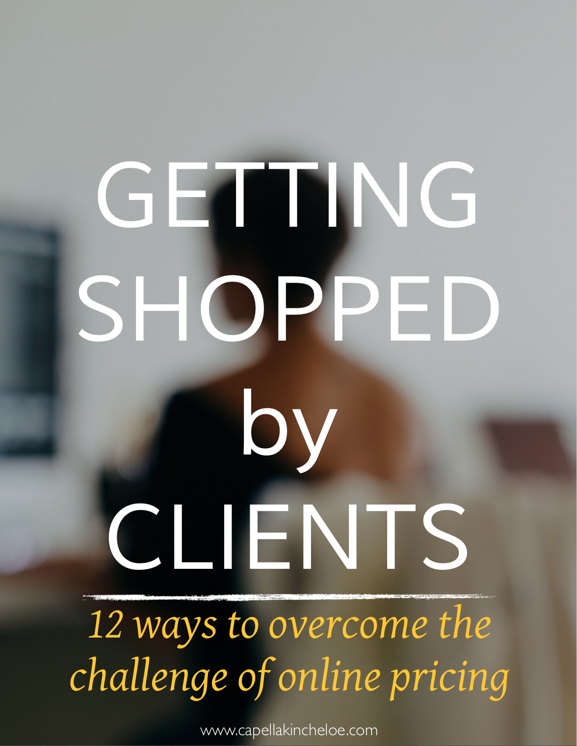 There is pricing all over the internet, learn how to overcome the challenge of getting shopped by clients in your interior design business.