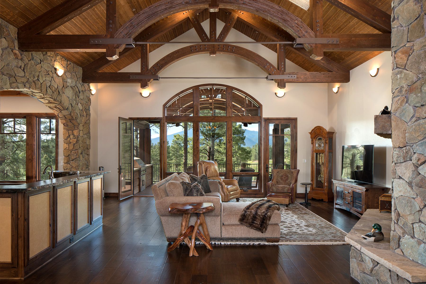 Arizona Living Room interior design by J White Designs