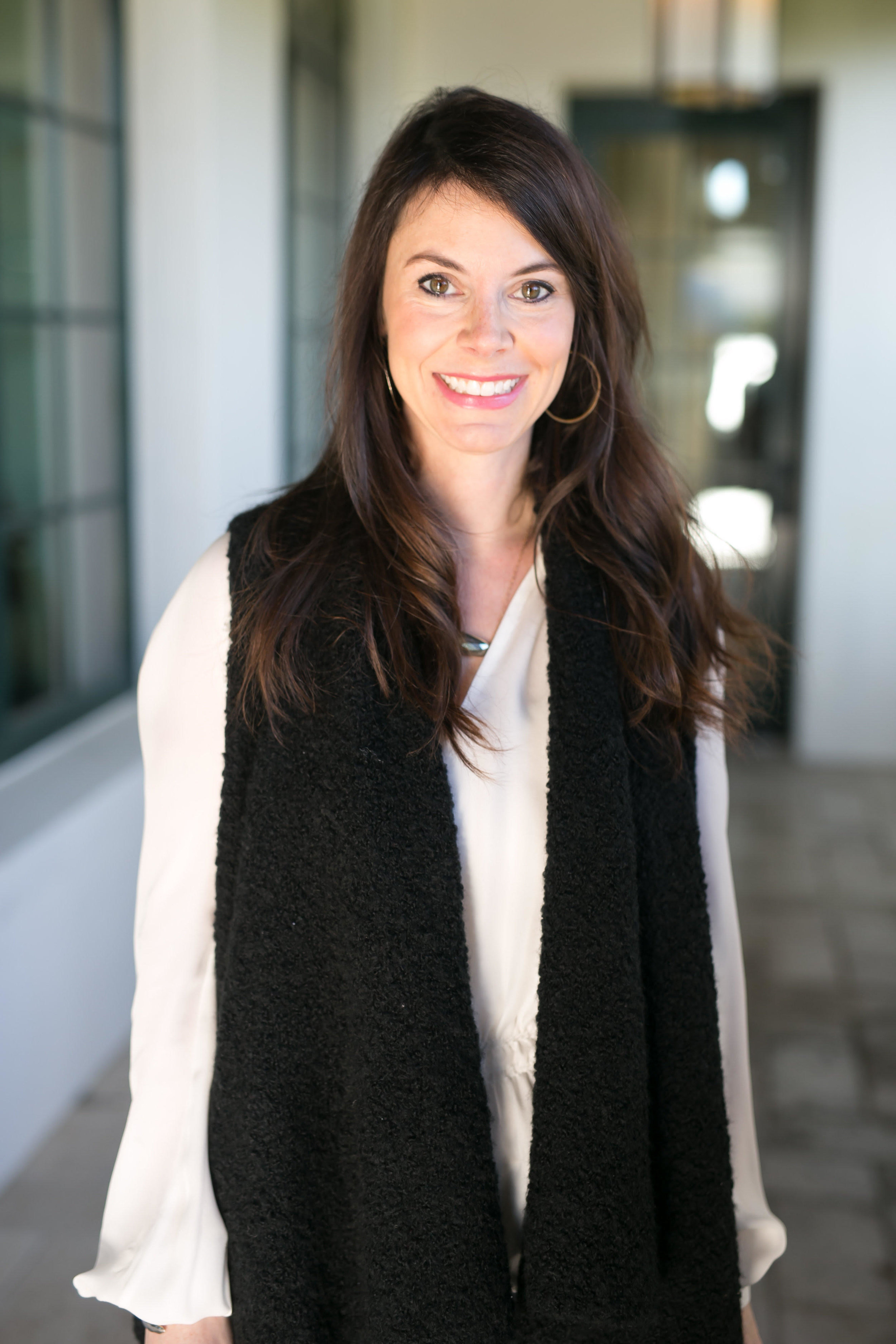 Courtney Moss in an Atlanta-based interior designer