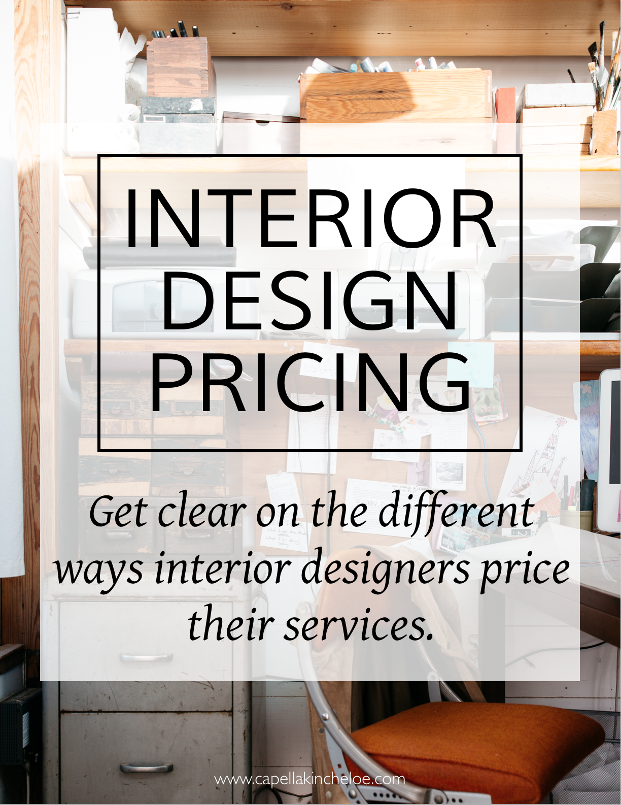 Pricing interior design services can be confusing.  This article clears up all the different ways that interior designers price and Gives examples!