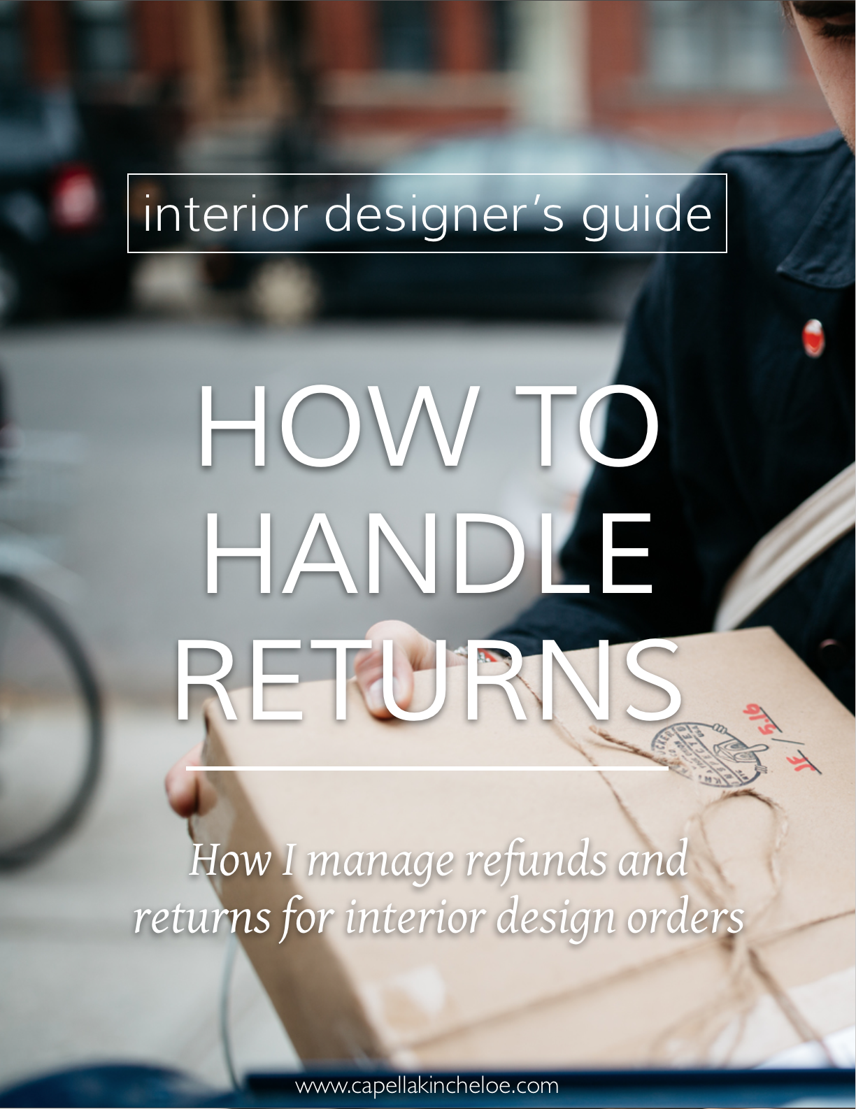 Most of the time orders placed for clients in the scope of an interior design project is not returnable, so what should you do when a client asks?