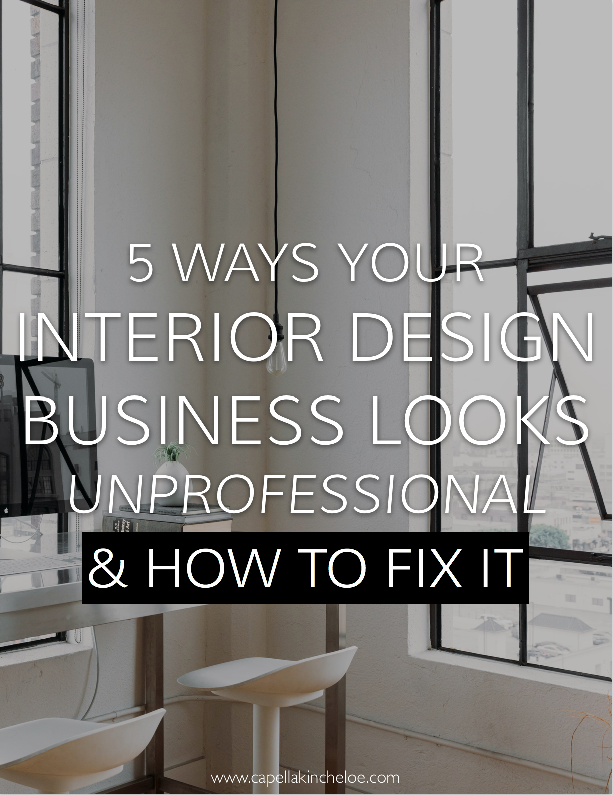 Are you showing clients the best side of your business? Or is it sending a different message? #interiordesignbusiness #cktradesecrets