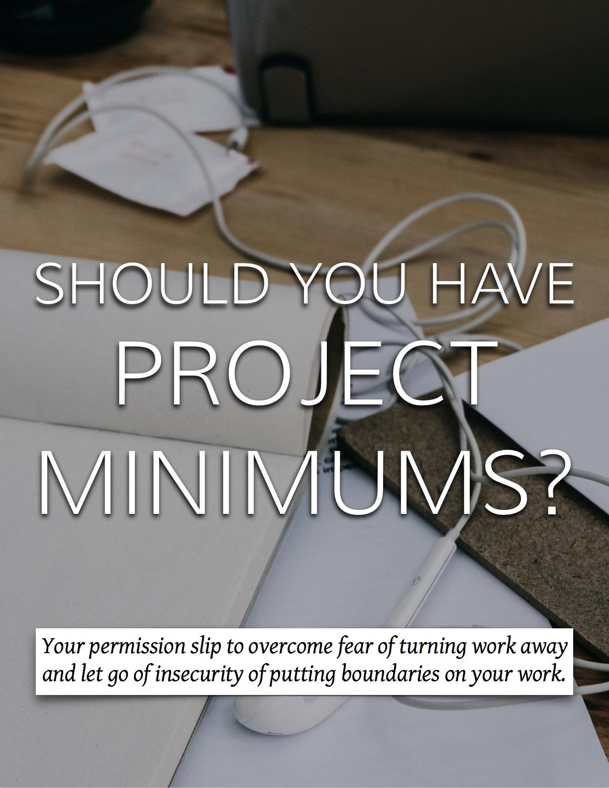 Yes! Implement project minimums! #interiordesignbusiness #cktradesecrets #projectminimums
