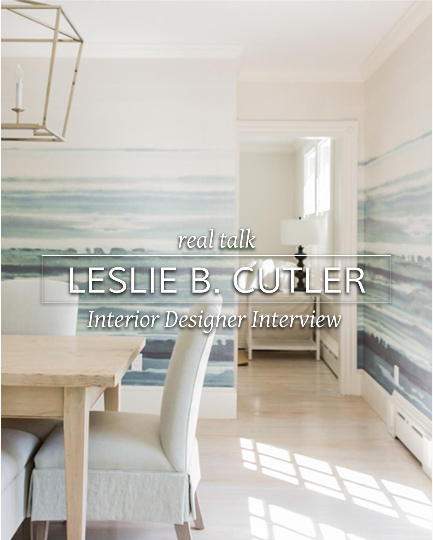 Leslie B Cutler Interior Design photo by Michael J Lee Photography #realdesigner #interiordesignbusiness #interiordesignerinterview
