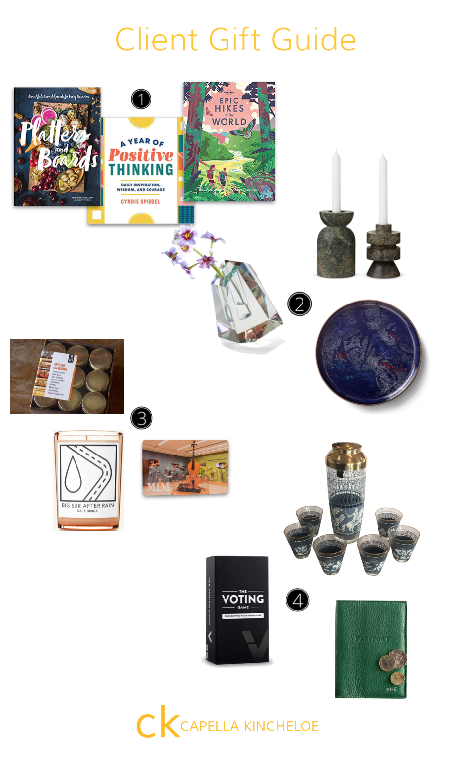Great gift ideas for your clients. #interiordesignbusiness #cktradesecrets #giftguide #clientgifts