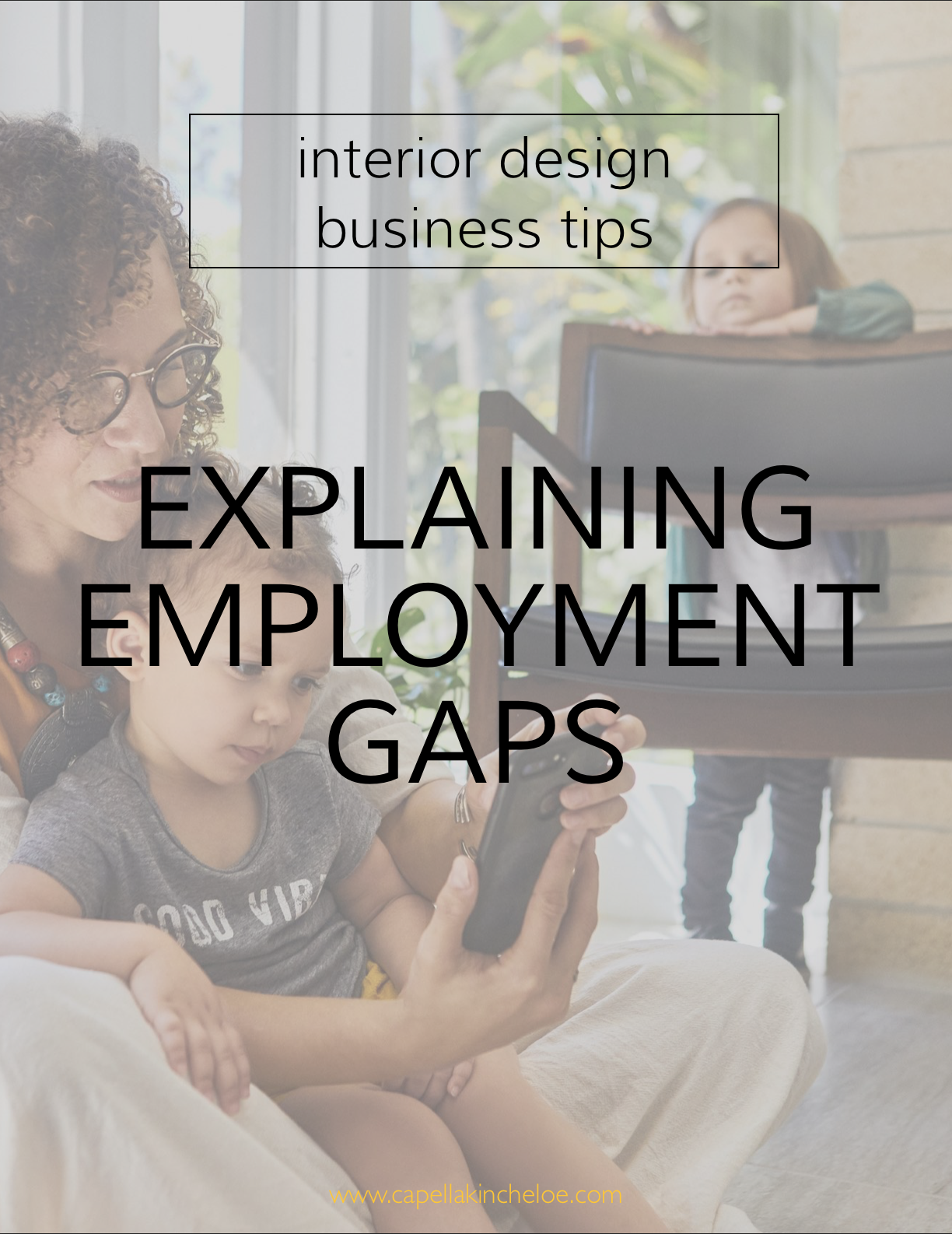 Been out of the workforce for awhile? Maybe kids, maybe education, maybe just life? How should you explain to potential employers what you were doing all that time? #interiordesignbusiness #interiordesignjob #cktradesecrets