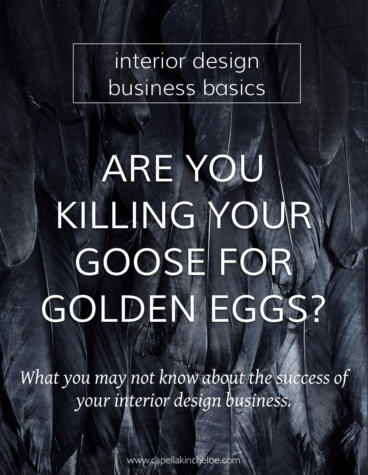 Are you effectively supporting your golden eggs with a solid business foundation, or is your interior design business out of wack? #interiordesignbusiness #cktradesecrets #interiordesignceo #productivity