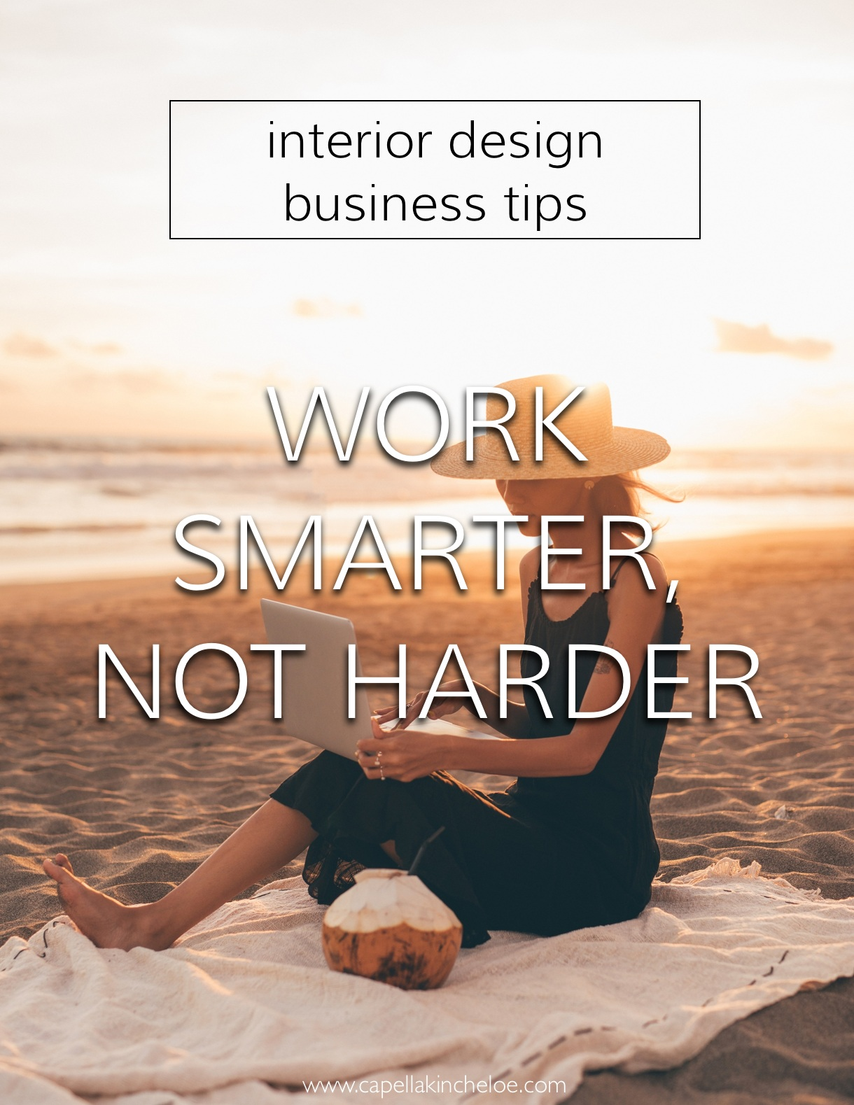 Limited time, learn how you can work smarter and not harder in your interior design business. #interiordesignbusiness #cktradesecrets #worksmarternotharder