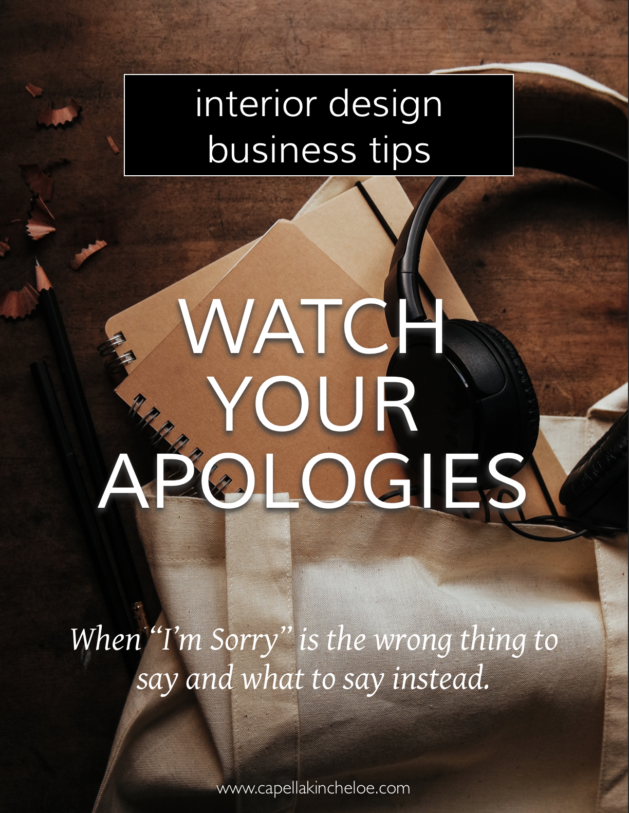 We all apologize too much and it can actually have the wrong effect - making people feel worse. Watch you apologies and do this instead. #interiordesignBusiness #CKtradesecrets #INTERIORDESIGNCEO