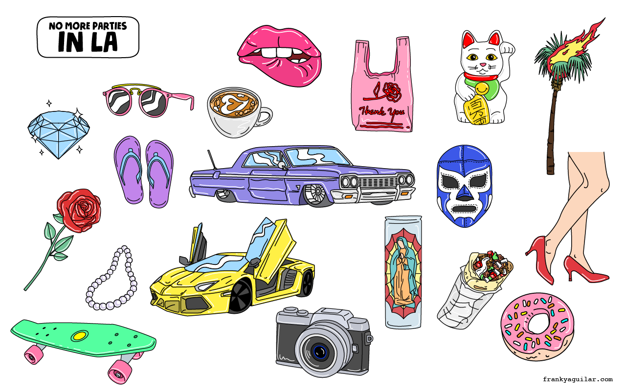 LA Sticker Pack