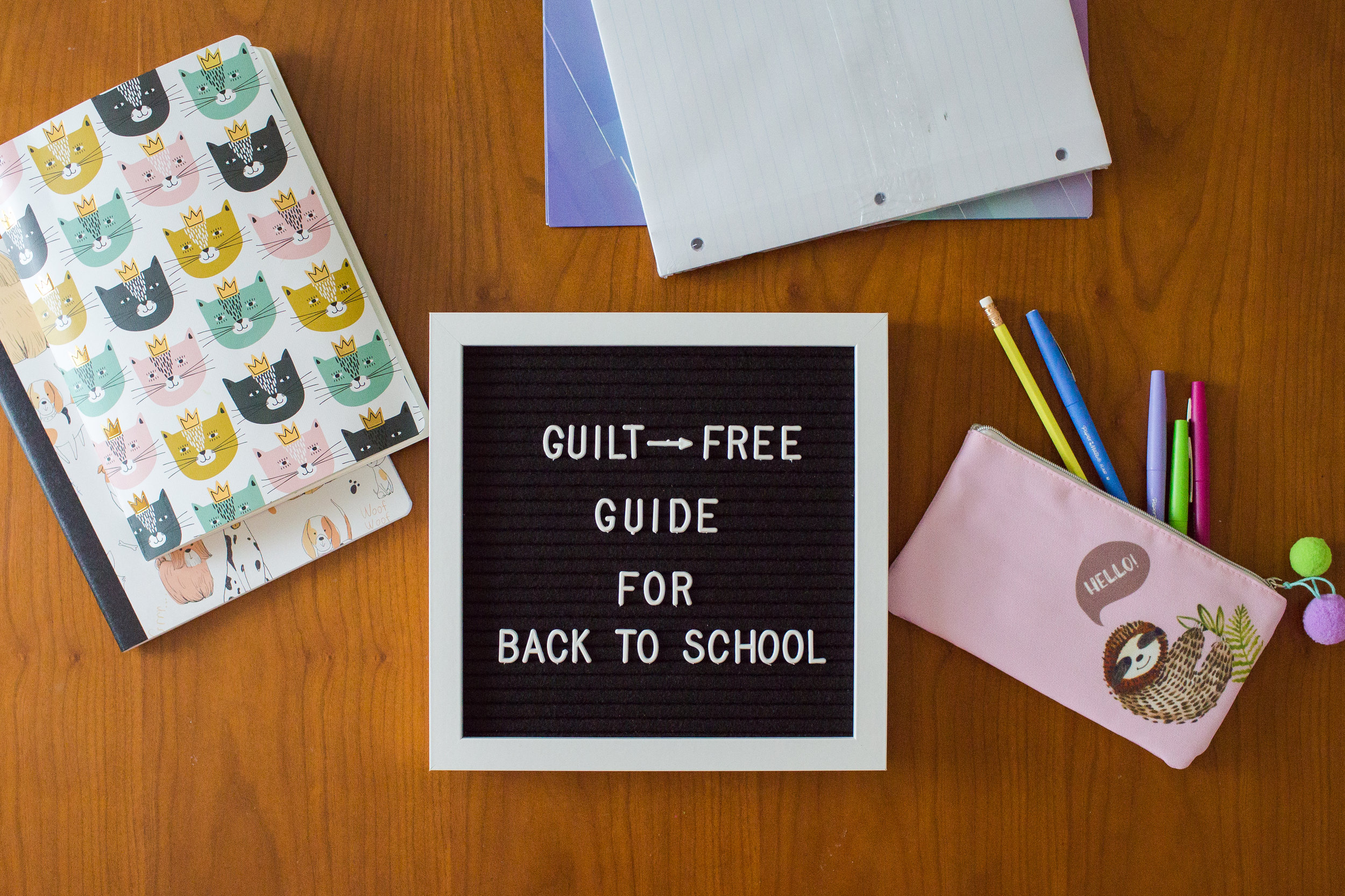 back-to-school, mom guilt