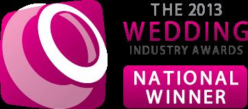 The wedding industry awards national winner Florist Derbyshire and Nottinghamshire