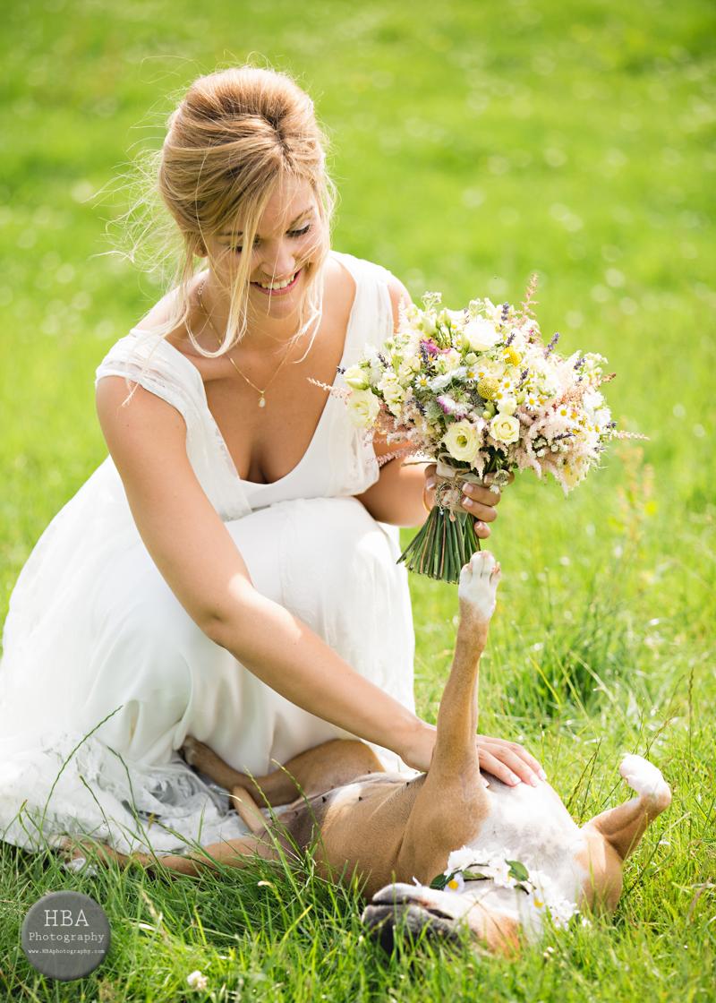 Bridal bouquet by Tineke Floral Designs