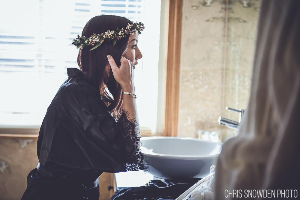 Floral crown by Tineke floral designs
