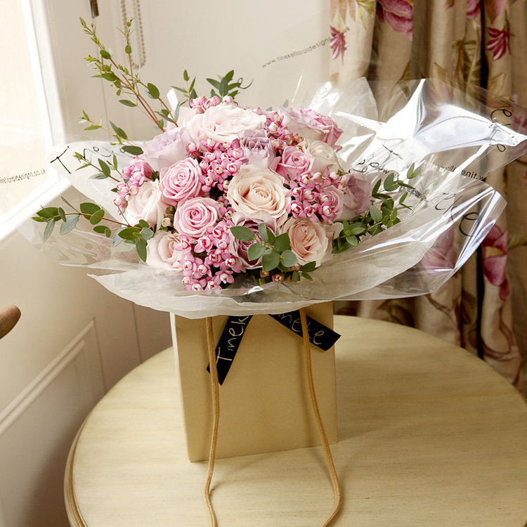 Hand tied bouquet workshops derbyshire