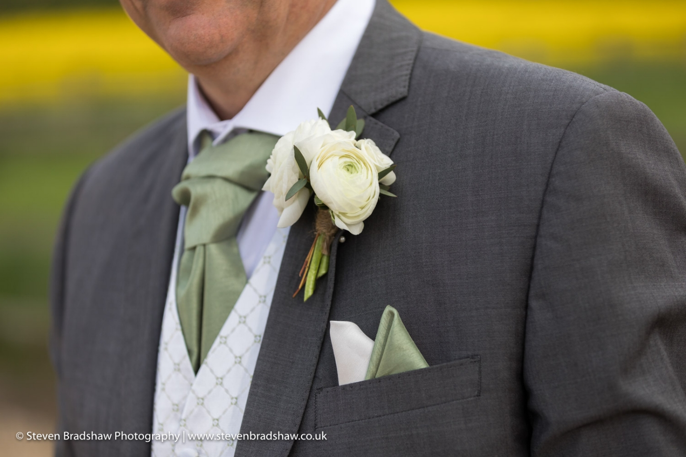 Grooms buttonhole by tineke