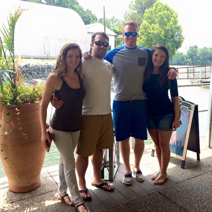 Blue Moon Grille - Neighborhood:Sylvan Park / West NashvilleThis is one of our summer favorites… it's a restaurant/bar literally on the river!