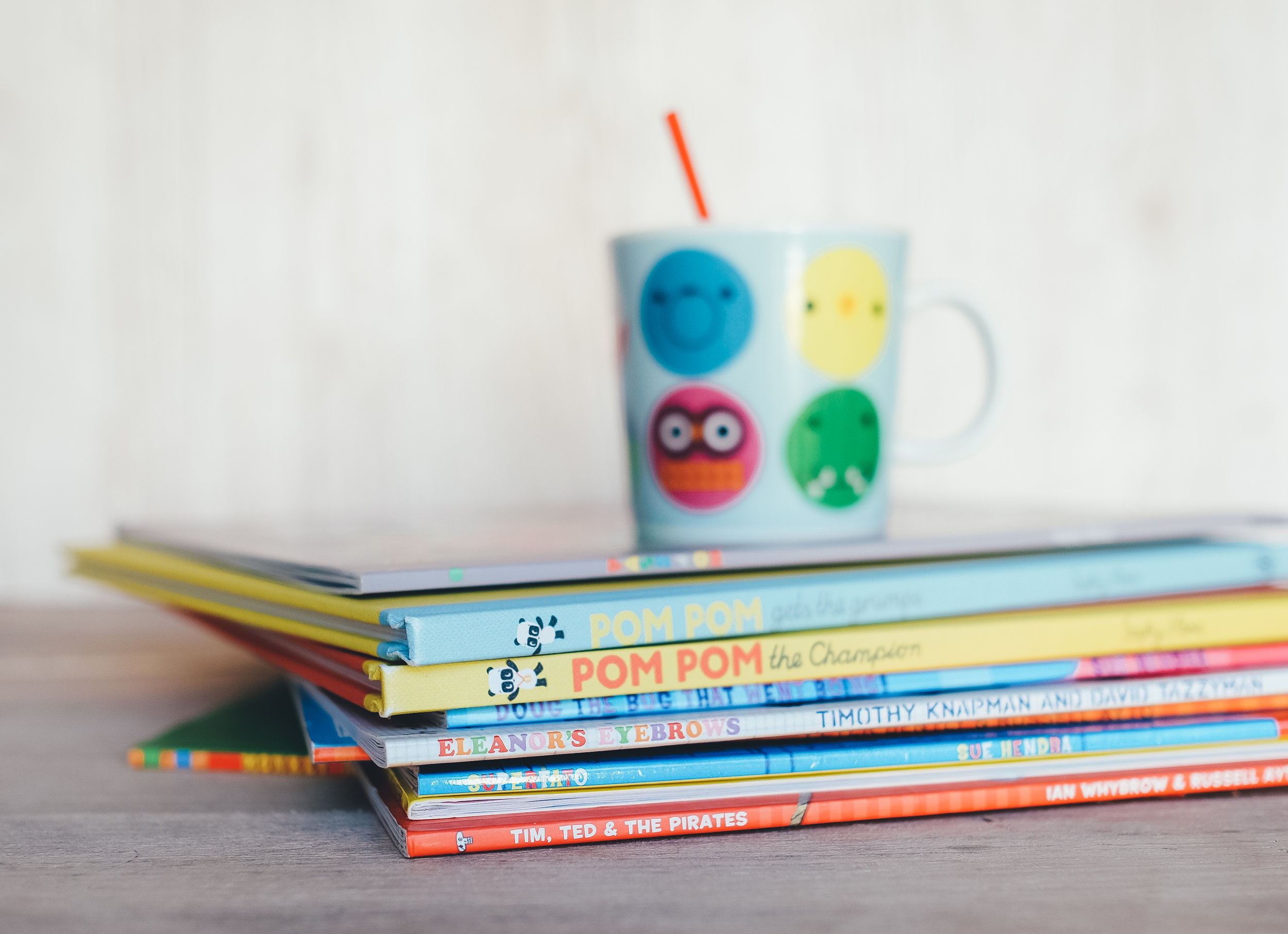 Click here to download the Junior Infant book list -