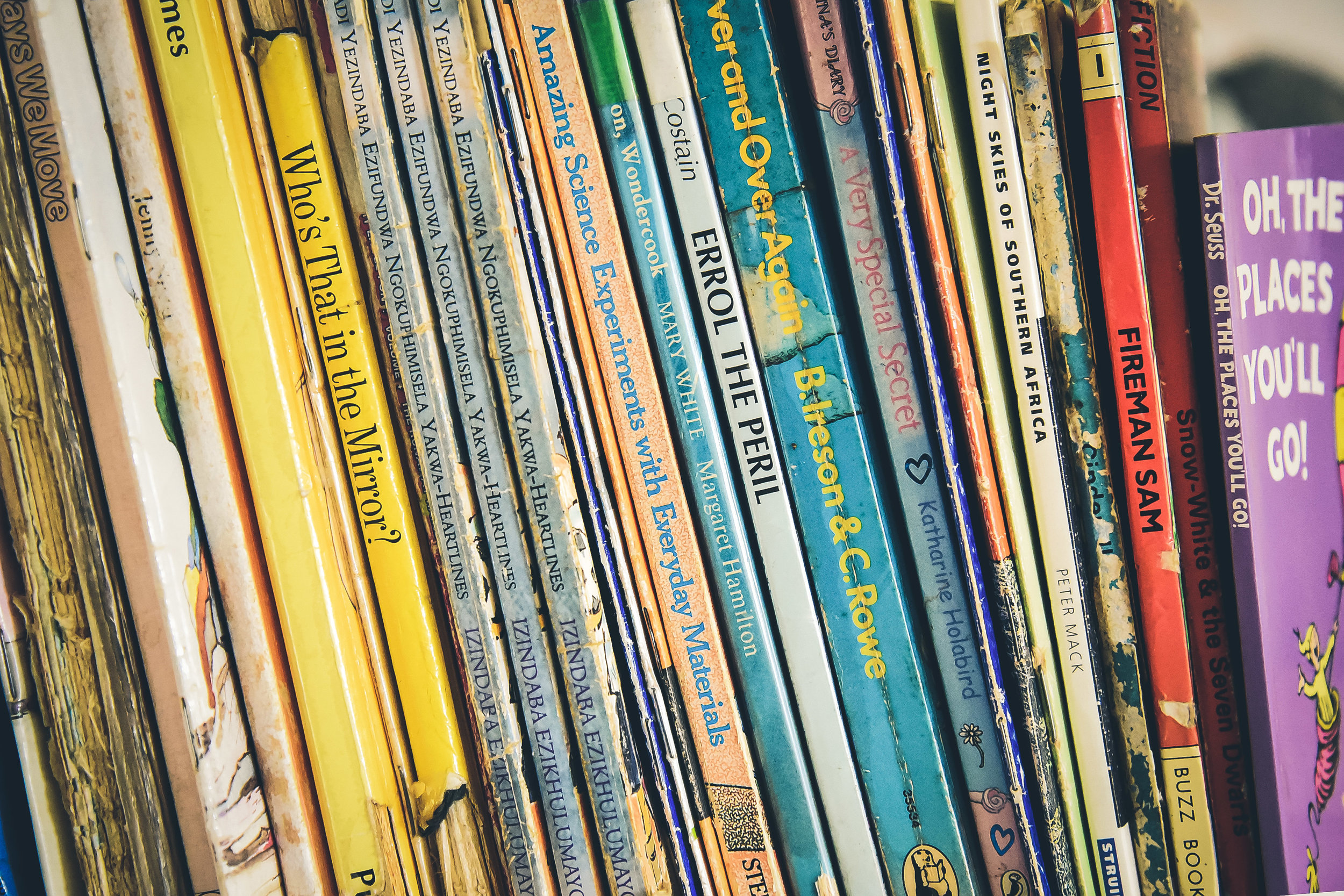 Click here to download the Senior Infant book list -