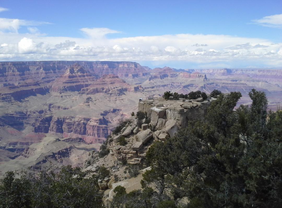 Kuva Grand Canyonilta